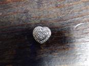 Silver-Diamond Pendant .01 CT. 925 Silver 2g
